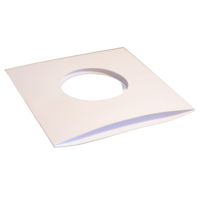 1000x Single 7 Record Sleeves Paper White