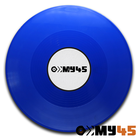 7 Vinyl dark blue clear (ca. 42g)