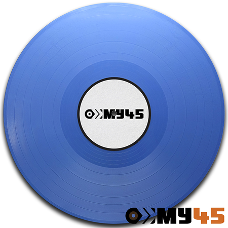 12 Vinyl light blue opaque