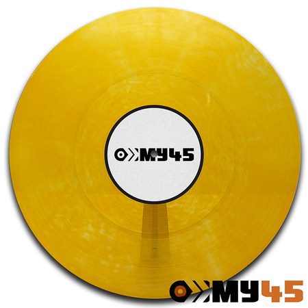 12 Vinyl orange transparent
