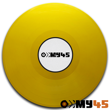 12 Vinyl yellow opaque