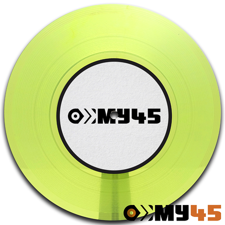 12 Vinyl lime/neon yellow-green transparent